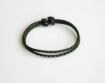 Simple Rope Bracelet - Dark Green