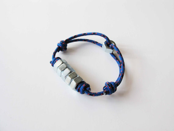 Multi Hex Rope Bracelet