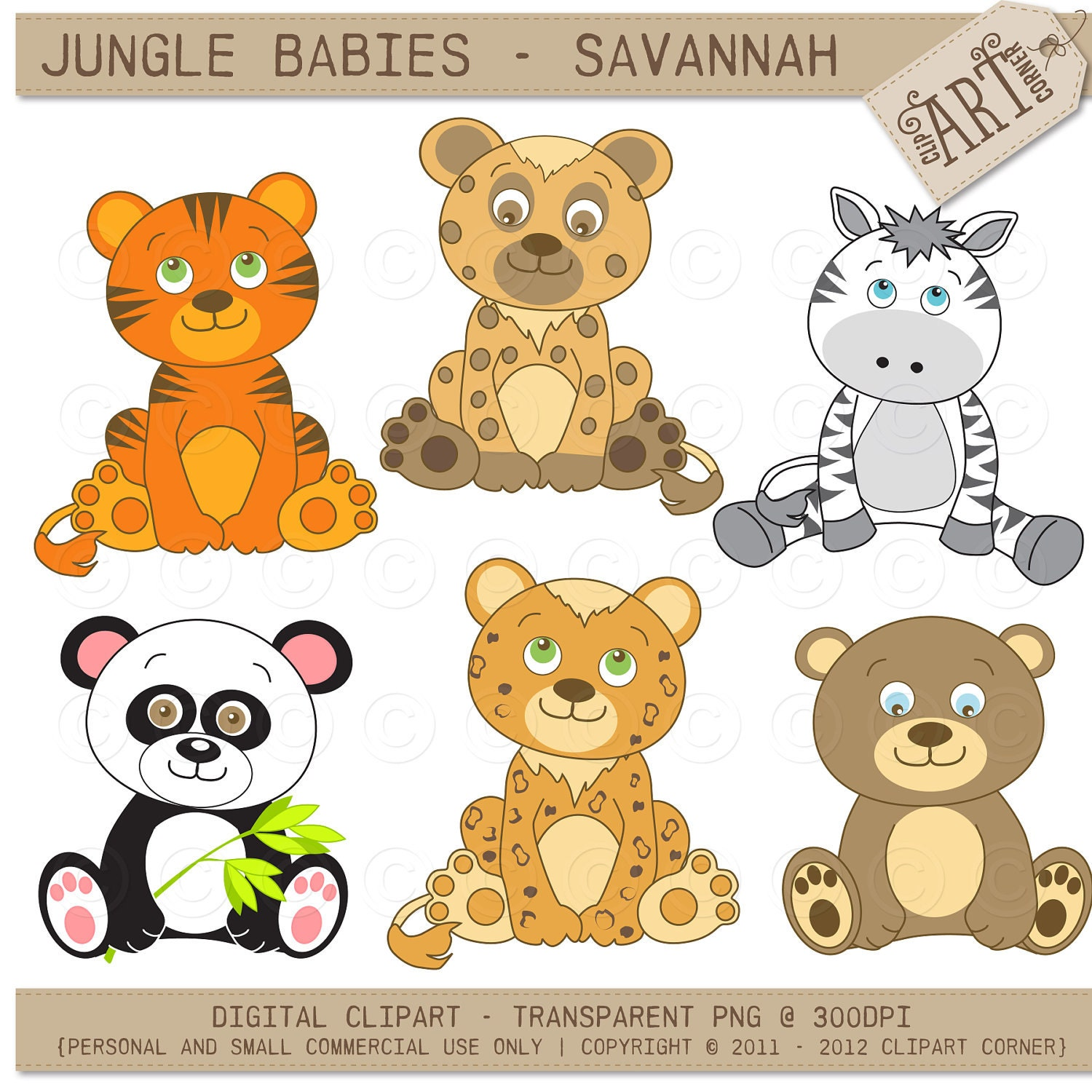 jungle baby clipart free - photo #23
