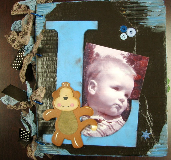 10 X 12 Custom Handmade Birthday Album