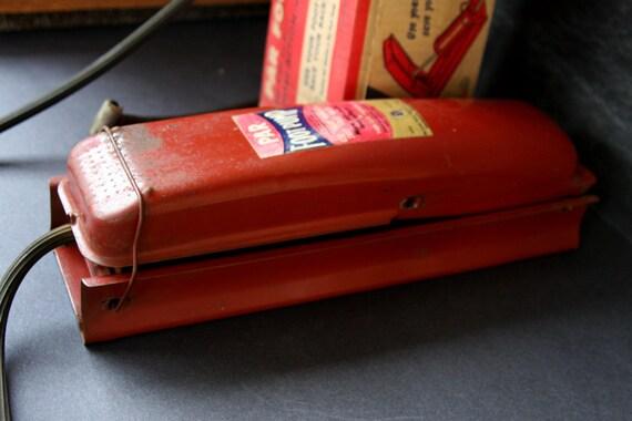 Vintage PAR Foot Pump with Original Box