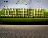 MAD FOR PLAID: Danish Mod Sofa
