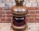 Vintage Ship's Lantern
