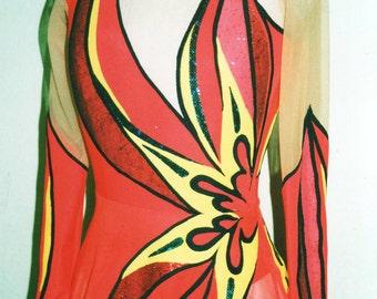 """Dress """"The Star"""" -for rhytmic gymnastic"""