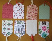 Pack of 12 Holiday Gift Tags: Give with Style