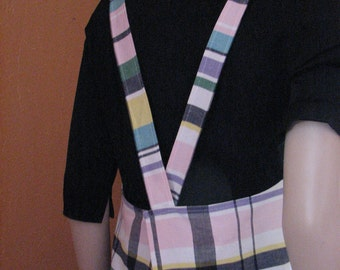 """APRONS  one of a kind using vintage fabrics and buttons """"Real not Retro"""""""
