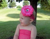 Flower Headbands For Babies, Kids and Adults