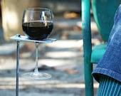 Boho Wine Glass Holder/ Garden Wine Holder