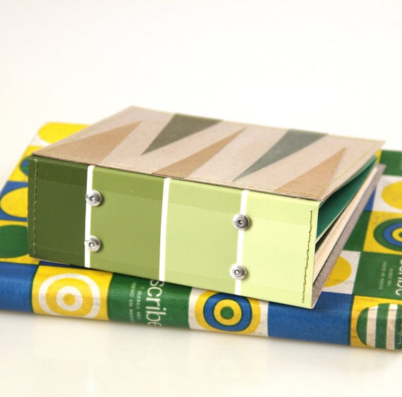 18 CD/ DVD Holder Book Handmade from Upcycled Materials