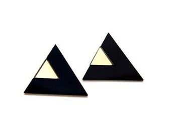 Black Edie Earring