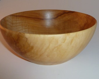 Handcrafted Maple Bowl 1