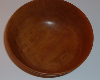 Handcrafted Cherry Wooden Bowl 6