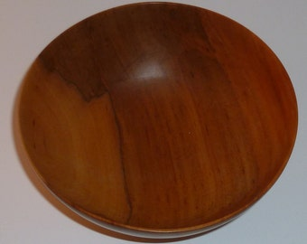 Handturned Gum Wooden Bowl 8