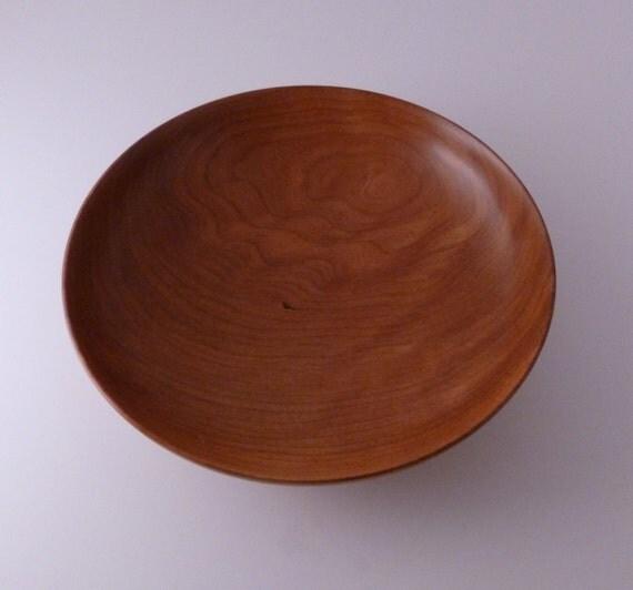 Hand Turned Cherry Wooden Bowl 33 Handmade Bowls Salad Bowl