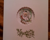 Hand Stamped St Nicholas Cards (Set of 8)