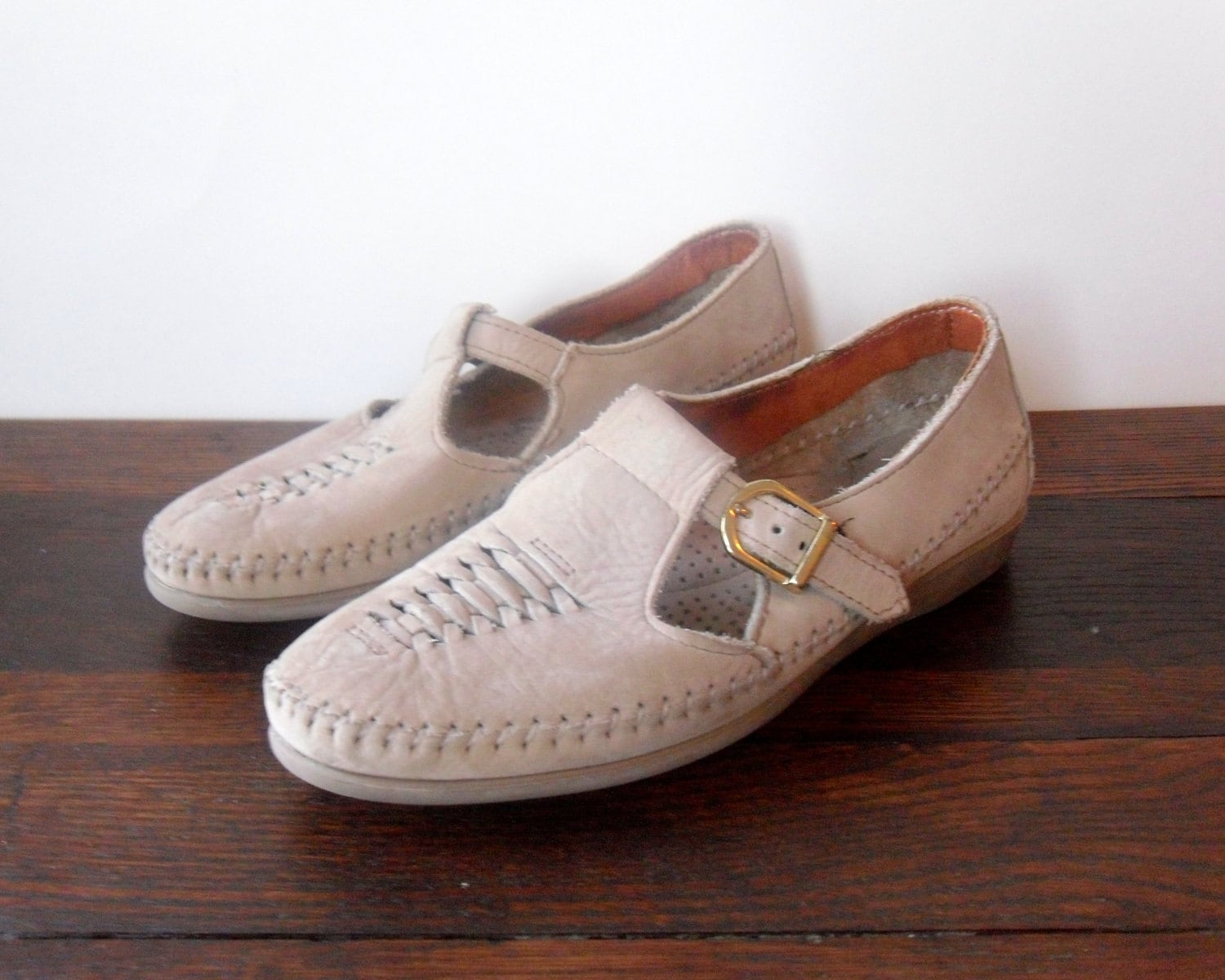 Vintage 80s / Dexter / Shoes 7.5 / Moccasin / Loafers / Vintage shoes