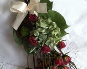 Dried Flower Bouquet with Bird's Nest