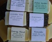 Clearance- All Natural Vegan Scented Soap Family Gift Pack 10 Bars