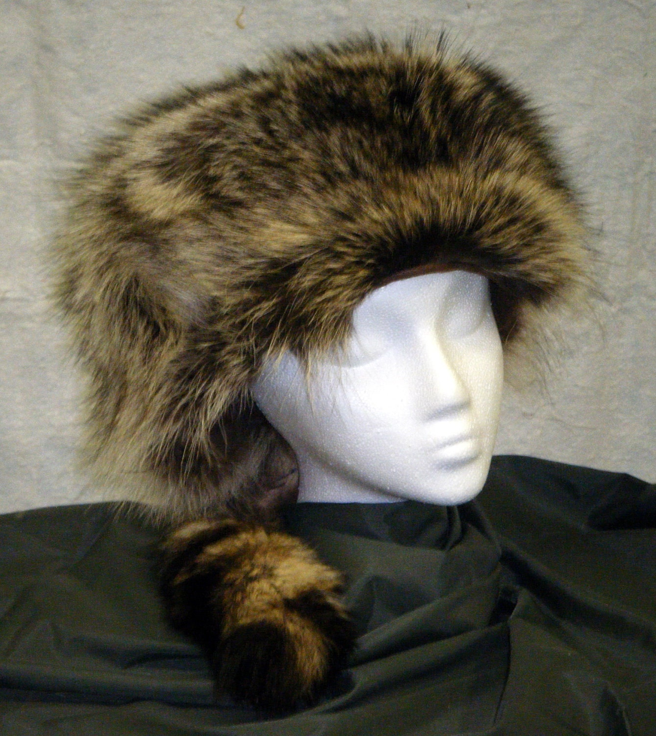 Coonskin Cap By HootsFurs On Etsy