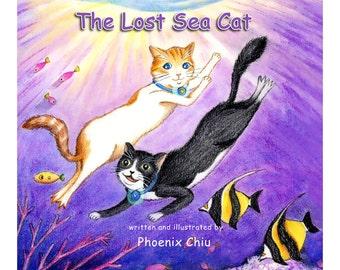 The Lost Sea Cat Child Book Written & Illustrated By Phoenix Chiu