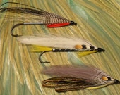 Fly Selection, New England Streamer Flies