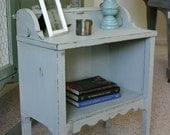 Facny Gray - Side Table - BEFORE AND AFTER