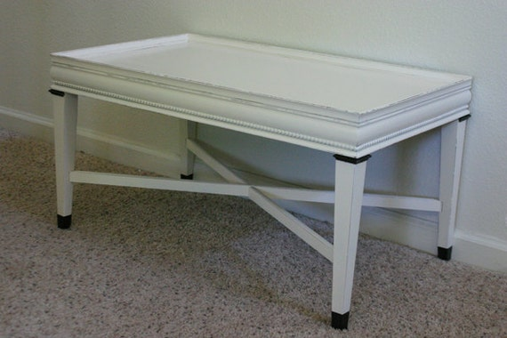 Cottage White Coffee Table