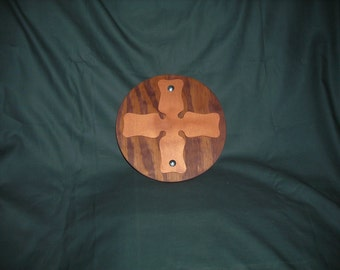 Round Buckler shield with Cross