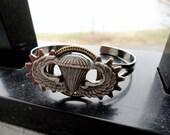 Steampunk Army Airborne Bracelet