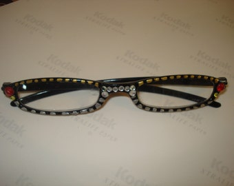 New hand painted reading glasses