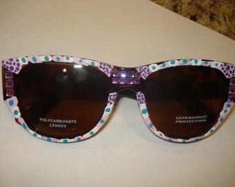 Hand painted Sunglasses
