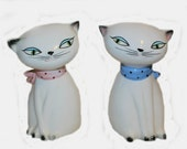 Vintage Holt Howard Cat Salt and Pepper Shakers