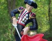 Vintage Ceramic Suave Debonair Spanish Matador for Your Entertainment and Viewing Pleasure