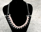Custom made Woven chain necklace- Abbey Road -