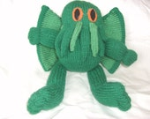 Woolly Cthulhu Toy / Monster / HP Lovecraft  / Plush