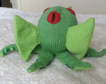 Nyarlethotep Toy / Cthulhu Mythos / Monster / Lovecraft / Plush / Knitted Toy