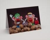 Mr. Potato Head Family Greeting Card