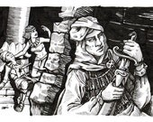 Assassin - Character Class Illustration