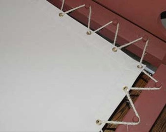 Custom Made Canvas Sacking Bottom for Rope (Peg) Bed