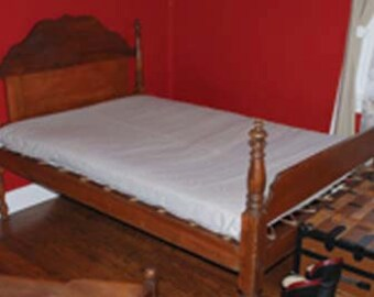NEW Bed Mattress Ticking Bag for Antique Rope Bed