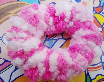 Elastic Handmade Cotton Candy PonyTail Holder.n1