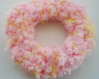 Handmade Sweet Cotton Candy PonyTail Holder.n2