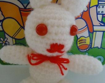 Crochet Kawaii Rabbit.Handmade.