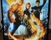 Fantastic Four 3D Hologram  Movie Poster