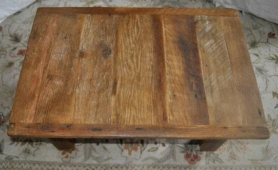 Reclaimed Barn Wood Coffee Table