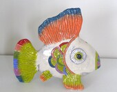 Handmade Ceramic COLORFUL FISH