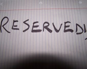 RESERVED for Andrew Leedy
