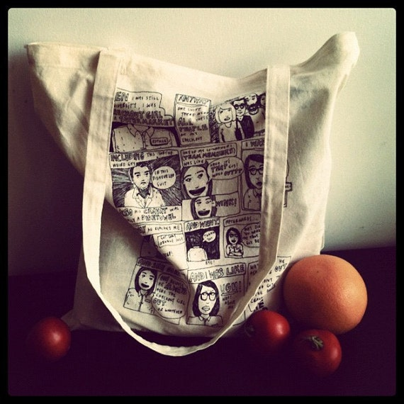 The League of Ordinary Ladies 100% Cotton and Useful Tote