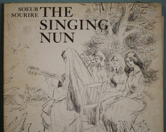 The Singing Nun Album with water colors