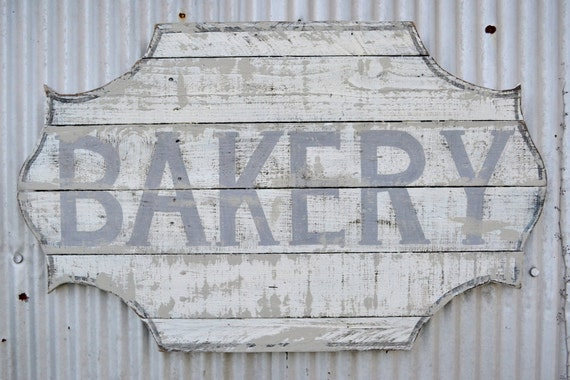 Vintage Bakery Sign 33